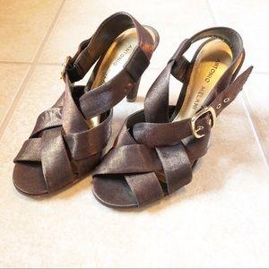 ANTONIO MELANI Strappy Heels, Size 6.5
